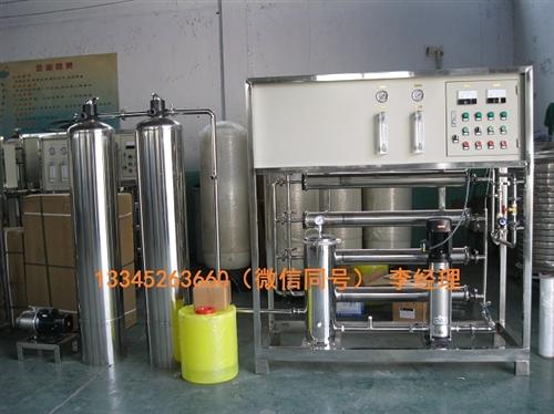 6吨双级小型纯净水设备直饮水