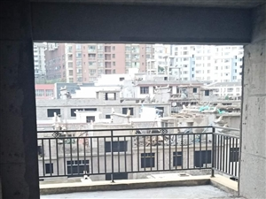 青合景城大阳台无遮挡大房间带飘窗正西向日照时间长