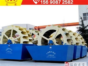 日产2000方的洗砂机需要投资多少钱?MHM69