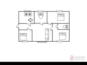 明珠花园3室2厅2卫833元/月设施齐全