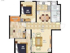 山水人家3室2厅1卫60万元