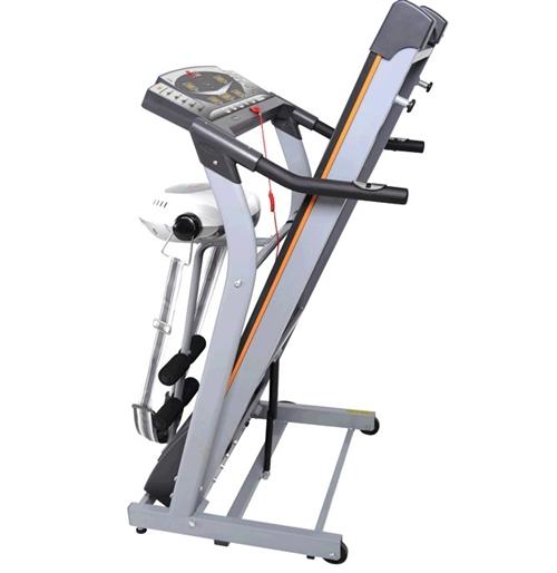 出售二手汇祥牌跑步机一台,带仰卧起坐器,晃腰器;原