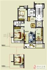 亚东同城印象113平135万3楼共11层毛坯满两年