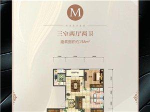 M户型 三室两厅两卫138�O