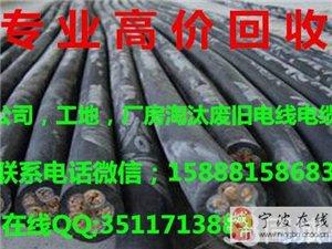 镇海,龙山,江北,九龙湖上门回收废旧电缆,电线