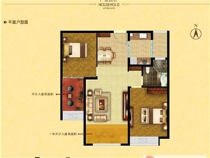 中南世纪城2室2厅1卫100平56万元新房可小刀