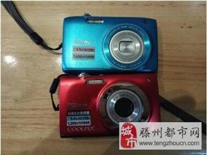 转让9成新尼康卡片式相机配件齐全