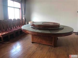 整套灶具转让,一大一小桌凳纯实木,可做私房菜包桌