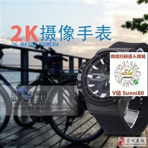 首款2K超高清画质卡西欧运动摄像手表
