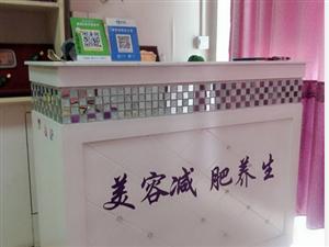 1.2米长的马赛克吧台,欧式白色烤漆收银台九成新