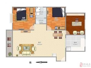 上和家园,3室2厅1卫,65万元