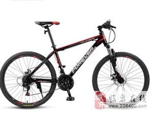 永久红色山地自行车7成新300元出售