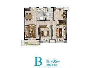 宝华精装小高层单价一万一三房朝南超高得房率