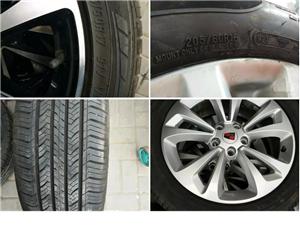 原厂轮胎,轮毂