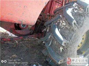 因地都连片了低价出售福田6150型轴流收割机