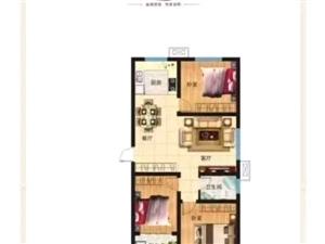 泰和名都3室2厅79万元环境优美