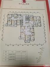 滨江御景居二期127.6平米三房售68万