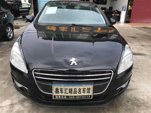 邛崃鑫车汇出售标致508,外观大气,空间大,可按揭