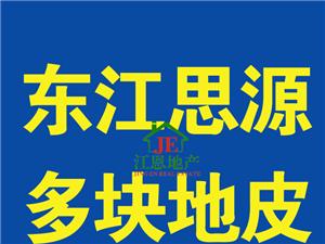 特价地皮出售!位于东江思源售价39万元