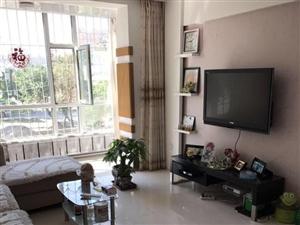 十中学区房2楼,87平精装落地窗地热,带部分家具