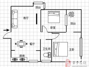 隆盛华府湖景两房急售48万元