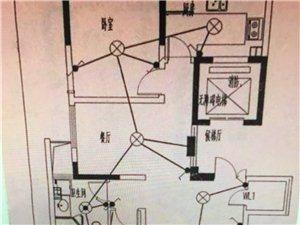 尚诚中介:鑫城苑2室2厅1卫120平米85万可改三室