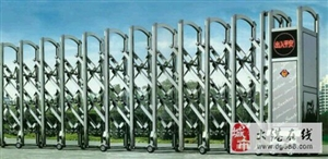 大港区伸缩门维修,伸缩门更换电机厂家