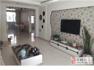 锦绣华府2楼,105平南北现代格局精装地热,落地窗