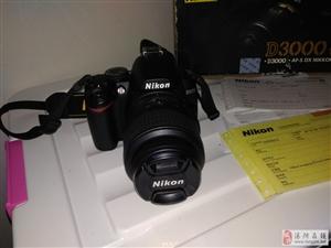 尼康d3000单反相机带18-55原装防抖镜头
