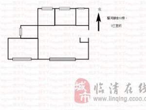 馨河郦舍3室2厅1卫55万元+非顶楼