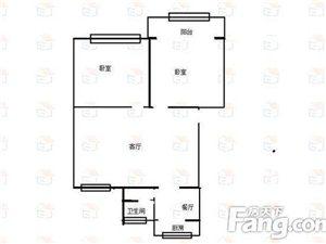 东阳城发财4楼73平2室55万,带储藏室双证可按揭