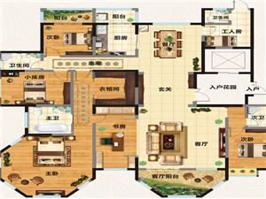 翡翠庄园5室2厅4卫180万元