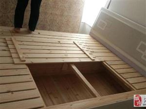 双人床处理95成新长2.0m宽1.8m