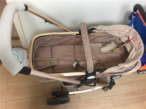 339元出售近乎全新青州实体店原价700元高景观婴儿推车