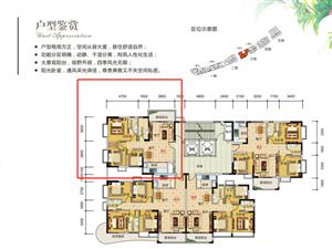 家和西岸悦湾小3房98.83平方51.19万