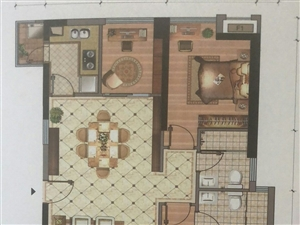 恒兴车站对面百福豪城3室2厅2卫120万元
