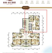 家和滨江御景3房中层62.49万元