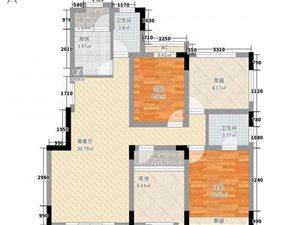 天明城花园洋房户型方正环境优美豪华装修115万