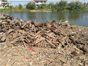 废旧木材木块浴室锅炉烧水用木块木疙瘩