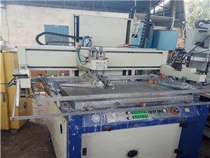 二手丝印机商标印刷机7090台面
