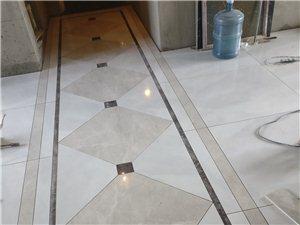 专业铺贴地面砖、墙面砖、花样菱形