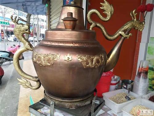 出售莲子粥铜壶一个