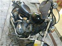 出手雅马哈250摩托车