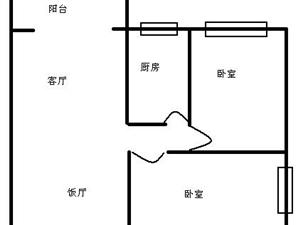 2楼,清水套二。产权齐全,