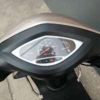 大阳跑跑踏板摩托,100排量的发动机