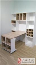 1-叠餐桌储物柜酒柜茶水柜厨房折叠餐边柜家用伸