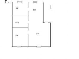 13782吉鹤苑小区2室1厅3600一平可贷款