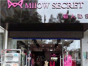 猫人内衣目前已拥有四个猫人内衣系列专营店铺