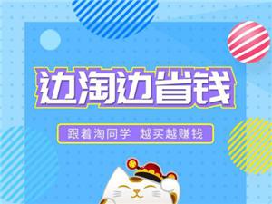 淘同学APP是荣利集团自2018年联合淘宝、京东、天猫进行百