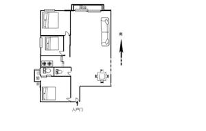 永隆国际城3室1厅2卫90万元